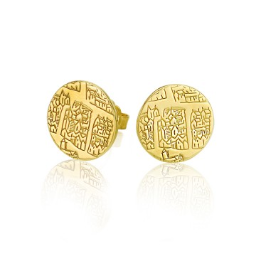 London 1593 Large Gilt Studs