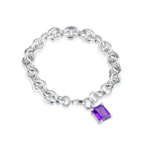 Big Rock Amethyst Bracelet
