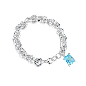 Big Rock Sky Blue Topaz Bracelet