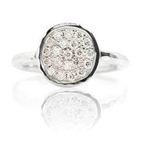 Dazzle 18ct White Gold & Diamond Ring