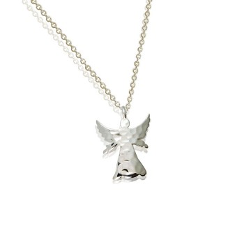 Guardian Angel Silver Pendant