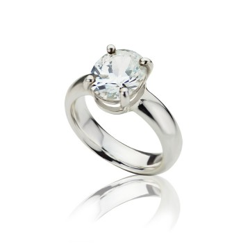 Big Brilliant Cubic Zirconia Ring