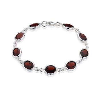 Gems Yard Garnet Bracelet