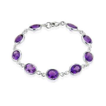 Gems Yard Amethyst Bracelet