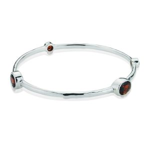 Gems Yard Garnet Bangle