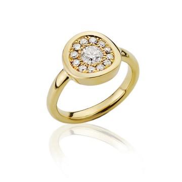 Large Centre Diamond Dazzle Ring
