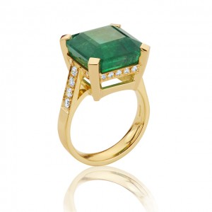 14ct Emerald Ring