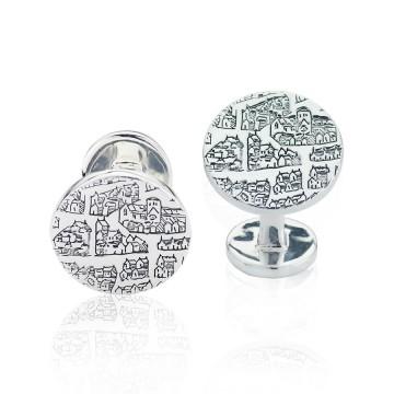 London 1593 Silver Cufflinks