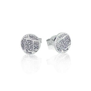 London 1593 Small Silver Studs