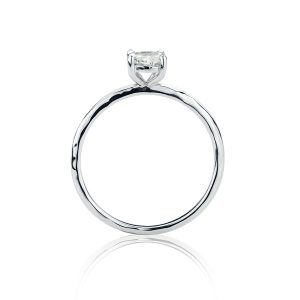 18ct White Gold Old Cut Diamond Ring