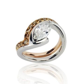 Fit Together Wedding & Engagement Ring