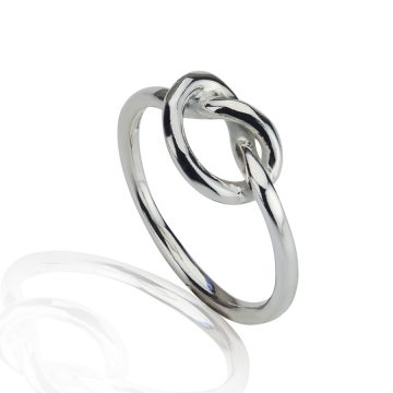 Love Knot Silver ring