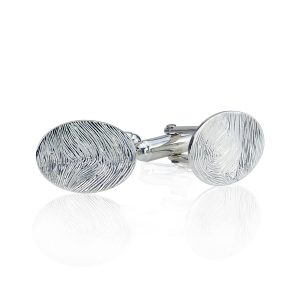 Personalised Full Print Fingerprint Cufflinks